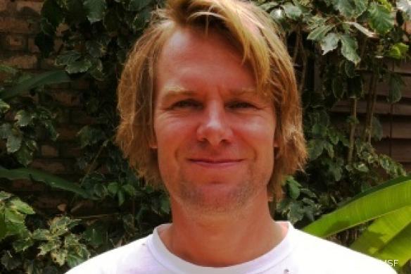 Roelant Zwaanswijk, coordinateur de projet pour MSF à Boguila