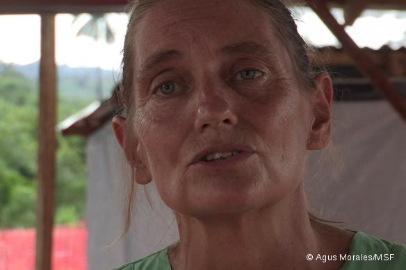 Ruth Kauffman, sage-femme MSF.