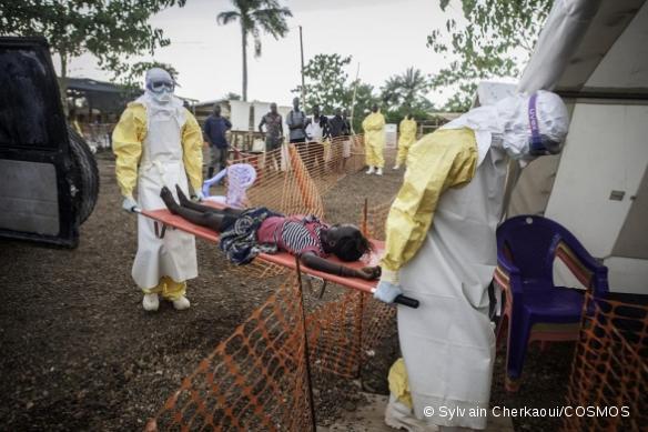 Activités de lutte contre l'Ebola en Sierra Leone.