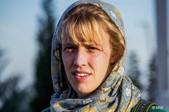 Caroline Willemen, conseillère en santé mentale auprès de MSF