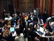 Un mapathon au siège de Mozilla, à Paris, en 2016.