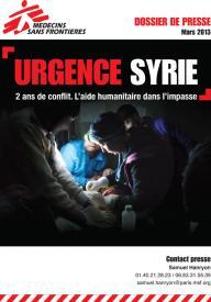 vivignette dossier de presse urgence syrie deux ans de conflit 2013