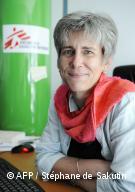 Portrait du docteur Marie-Pierre Allié, présidente de Médecins Sans Frontières