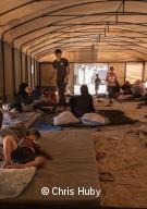 Le camp d'Ain Issa accueille des déplacés de Rakka.