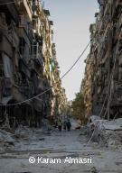 Alep, en novembre 2016.
