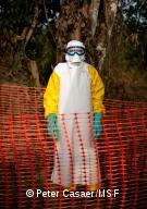 Staff MSF Ebola, Gaand Bassa, Liberia