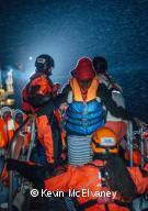 Sauvetage à bord de l'Aquarius