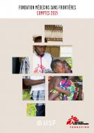 Comptes 2015 Fondation MSF