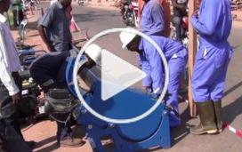 RD Congo : des kilomètres de tuyaux contre le choléra
