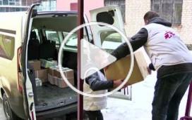 Des populations prises au piège dans l'Est de l'Ukraine