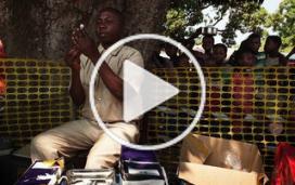 Epidémie de rougeole dans la province du Katanga, en RD Congo