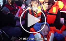 MSF et Greenpeace : opérations de sauvetage au large de Lesbos, en Grèce