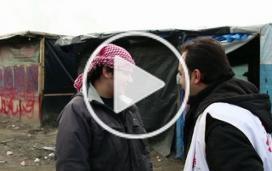 « A Calais, notre rôle est aussi de rassurer les réfugiés »